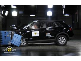Audi Q3– Front crash test