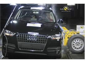 Audi Q3– Side crash test