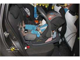Toyota Yaris – Child Rear Seat crash test