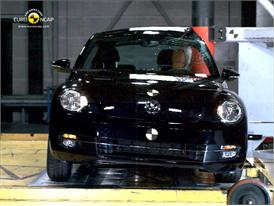 VW Beetle – Pole crash test