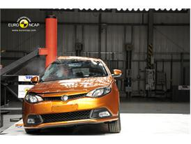 MG6– Pole crash test