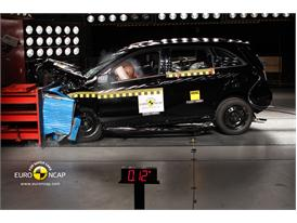 Mercedes-Benz B-Class – Front crash test