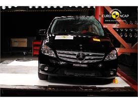 Mercedes-Benz B-Class – Pole crash test