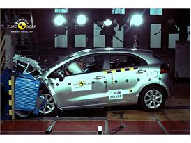 Kia Rio – Front crash test
