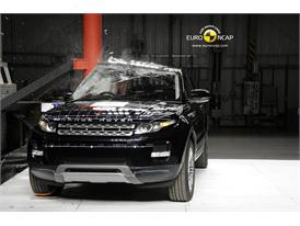 Range Rover Evoque – Pole crash test