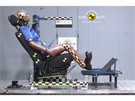 Renault Fluence ZE – Whiplash crash test