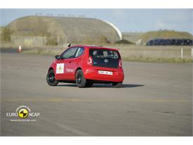 VW up! – ESC test