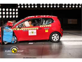 VW up! – Front crash test