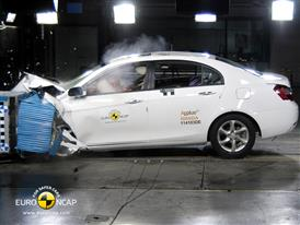Geely Emgrand EC7 – Front crash test