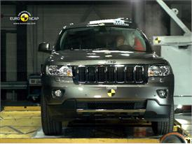 Jeep Grand Cherokee – Pole crash test