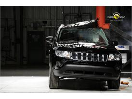 Jeep Compass – Pole crash test