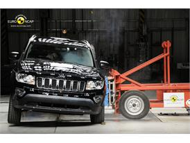 Jeep Compass – Side crash test