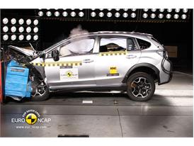 Subaru XV – Front crash test