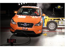 Subaru XV – Side crash test