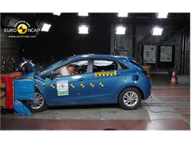 Hyundai i30– Front crash test