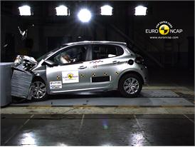 Peugeot 208– Front crash test