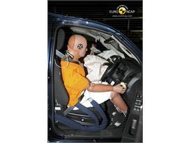 Isuzu D-MAX-Driver crash test