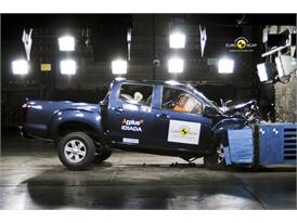 Isuzu D-MAX – Front crash test