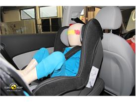 Audi A3 – Child Rear Seat crash test