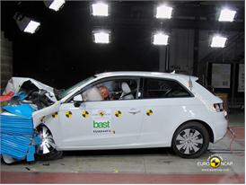 Audi A3 – Front crash test