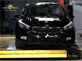 Kia C'eed –  Pole crash test