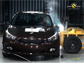 Kia C'eed – Side crash test