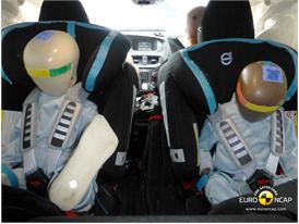 Volvo V40 – Child Rear Seat crash test