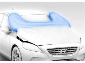 Volvo V40 - Pedestrian Airbag