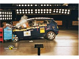 Ford Fiesta Frontal crash test 2012