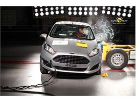 Ford Fiesta Side crash test 2012