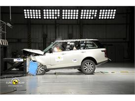 Range Rover Frontal crash test 2012