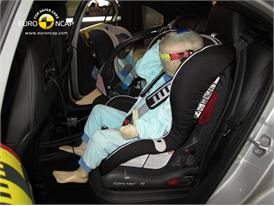 Mercedes Benz A-Class Child Rear Seat crash test 2012