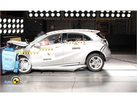 Mercedes Benz A-Class Frontal crash test 2012