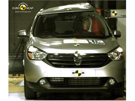 Dacia Lodgy Pole crash test 2012