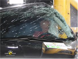Ford Kuga Pole crash test 2012