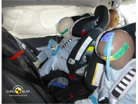 Volvo V60 Plug-In Hybrid  Child Rear Seat crash test 2012