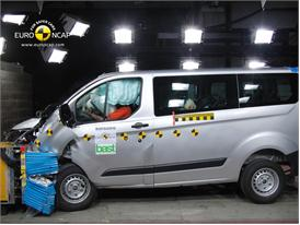 Ford Transit Custom - Frontal crash test 2012