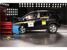 Chevrolet Trax - Frontal crash test 2013