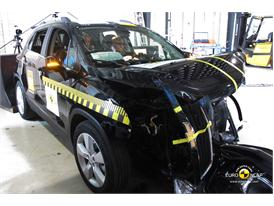 Chevrolet Trax - Frontal crash test 2013 - after crash