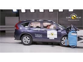 Honda CR-V - Frontal crash test 2013