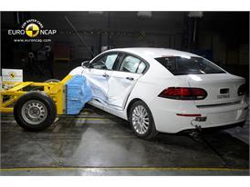 Qoros 3 Sedan -Side crash test 2013