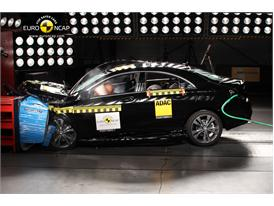 Mercedes-Benz CLA Class  - Frontal crash test 2013