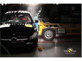 Mercedes-Benz CLA Class - Side crash test 2013