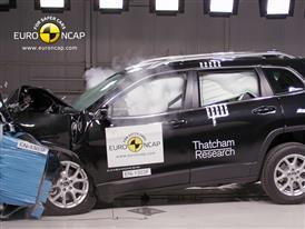 Jeep Cherokee  - Frontal crash test 2013