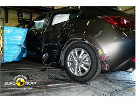 Mazda 3 -Side crash test 2013 - after crash