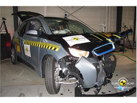 BMW i3 - Frontal crash test 2013 - after crash 2