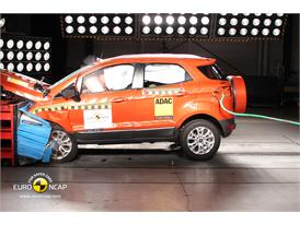 Ford EcoSport  - Frontal crash test 2013