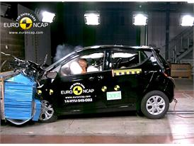 Hyundai i10  - Frontal crash test 2014