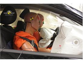 Hyundai i10 - Frontal crash test 2014 - after crash