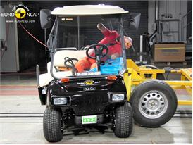 Club Car Villager 2+2 LSV - Side crash test 2014